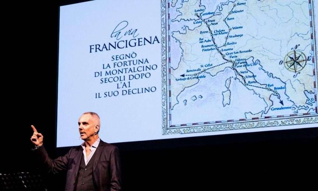 A Benvenuto Brunello 2020, anche Federico Buffa ha raccontato il grande rosso toscano