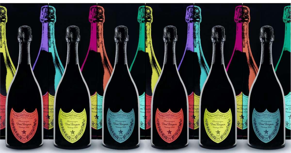 Andy Warhol Tribute Collection: la Pop Art secondo Dom Pérignon