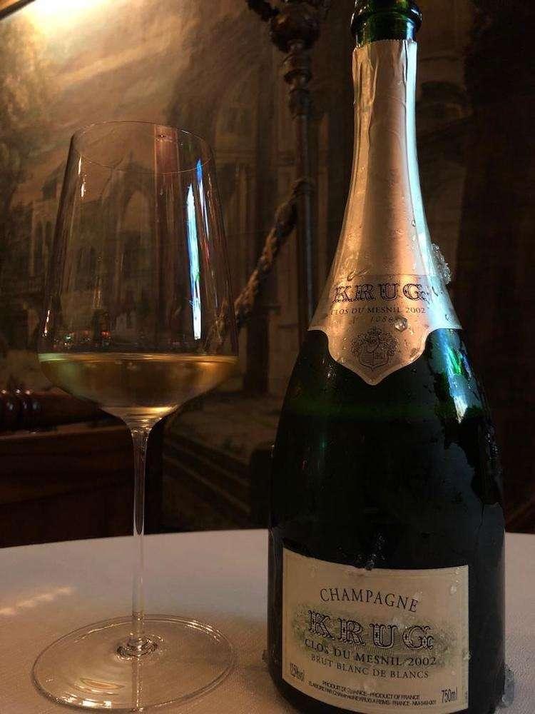 Il Clos du Mesnil 2002 di Krug: il volto di un'annata mito in Champagne