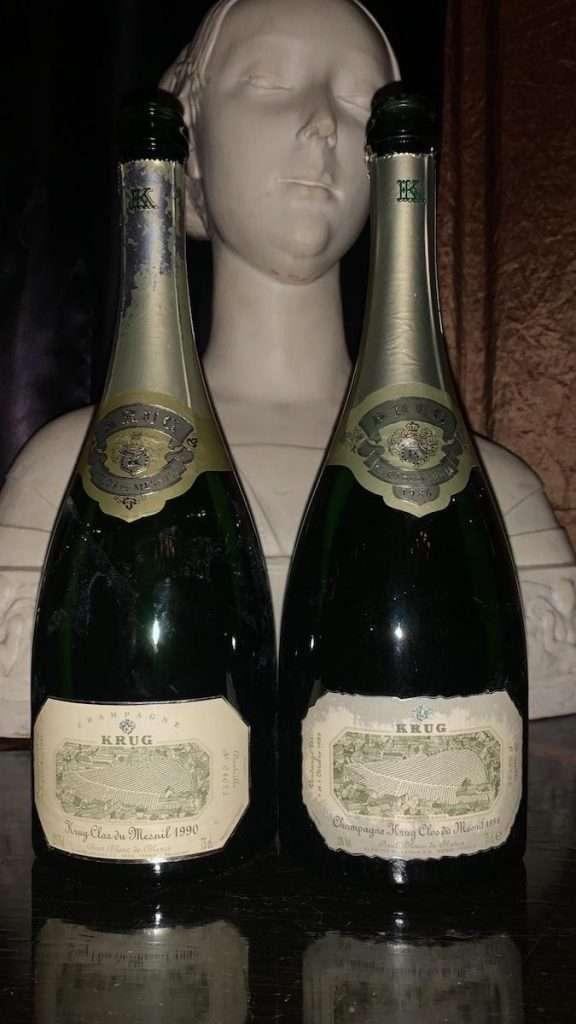 Il Clos du Mesnil è la massima espressione dello Chardonnay di Mesnil e forse dell'intera Champagne.