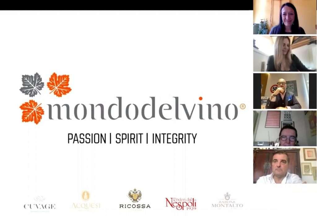 In questa occasione, Mondodelvino ha scelto la piattaforma Zoom per interfacciarsi con i propri ospiti del digital tasting.