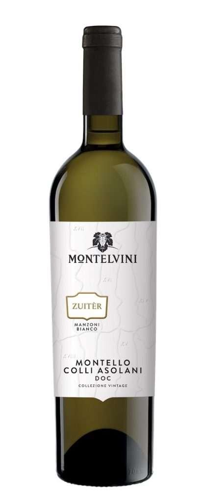 Il nuovo Zuitèr Manzoni Bianco Montelvini, un vino da uve autoctone che è massima espressione della zona del Montello