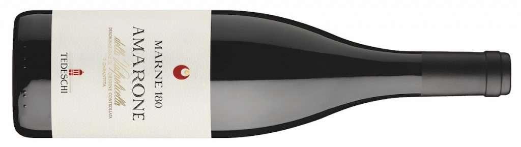Fin dall'etichetta, l'Amarone Marne 180 di Tedeschi è una narrazione di un modo di concepire il vino in Valpolicella