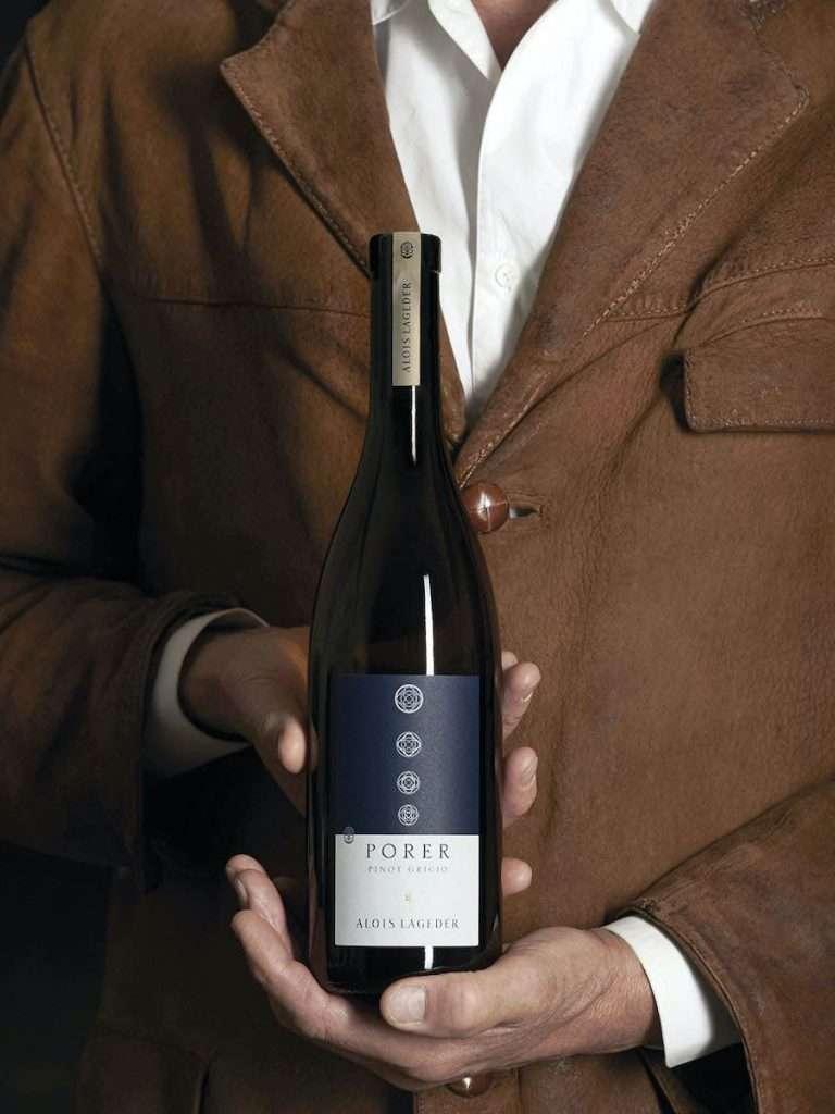 Il Porer Pinot Grigio di Alois Lageder è una delle stelle della linea Composizioni