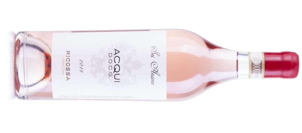 Il Sei Anime Ricossa Docg di Ricossa Antica Casa è rosé croccante, energico e pieno, Brachetto vinificato in rosato
