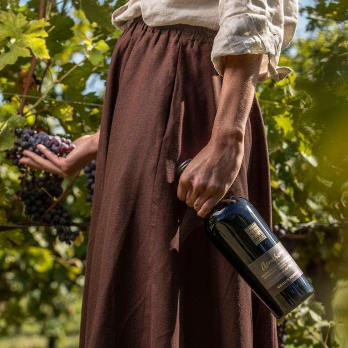 Abbiamo deciso di dedicare un'intera linea di vini ispirati al carattere forte e fuori dagli schemi di Cecilia Beretta e oggi di celebrare, insieme a Wired e Clorophilla, il meraviglioso bagaglio di innovazione che le donne sanno portare (Riccardo Pasqua)