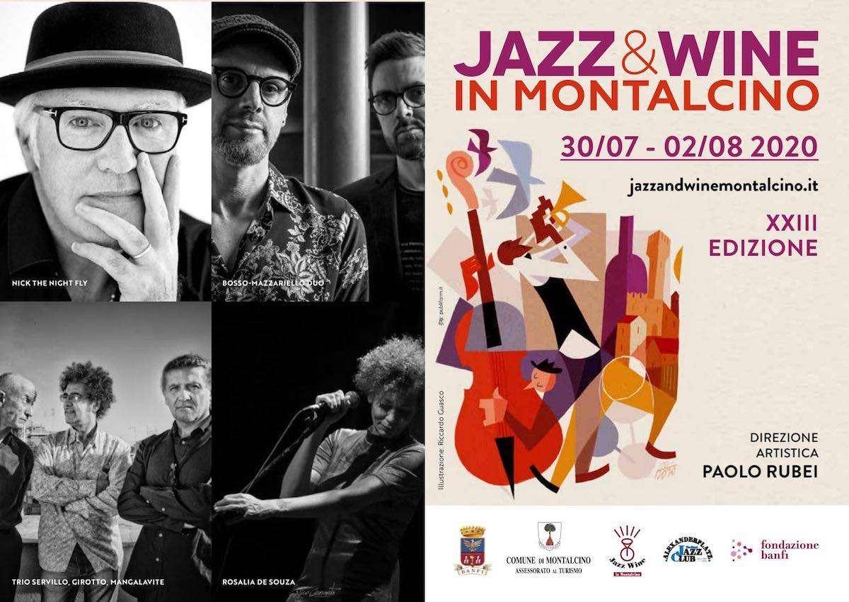 Jazz & Wine in Montalcino: la grande musica conquista la terra del Brunello