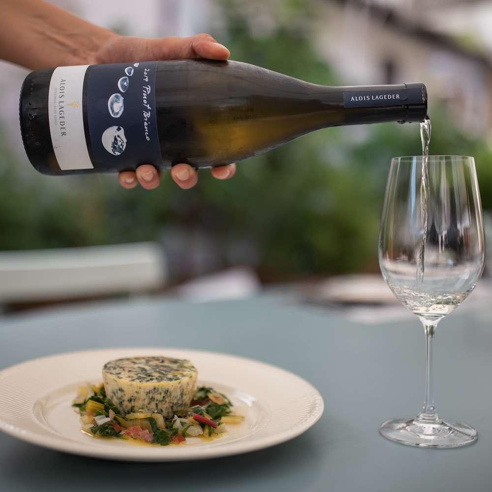 Vino e verdure: Pinot Bianco ideale connubio per le verdure verdi, come le bietole
