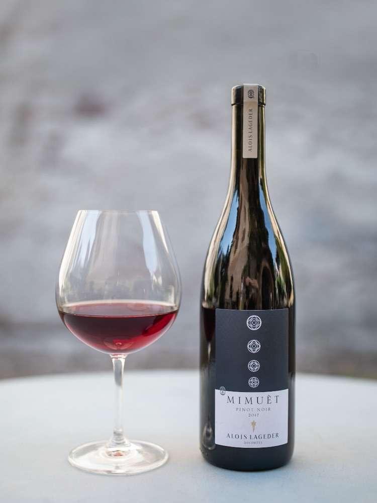 Vino e verdure: il Mimuèt Pinot Noir sposa perfettamente un risotto con la barbabietola, soprattutto se accompagnata al pecorino