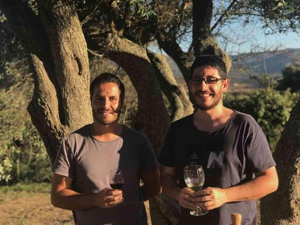 Andrea e Francesco Sannitu rappresentano l'anima giovane e contemporanea del vino di Sardegna, con la cantina Atlantis Berchidda