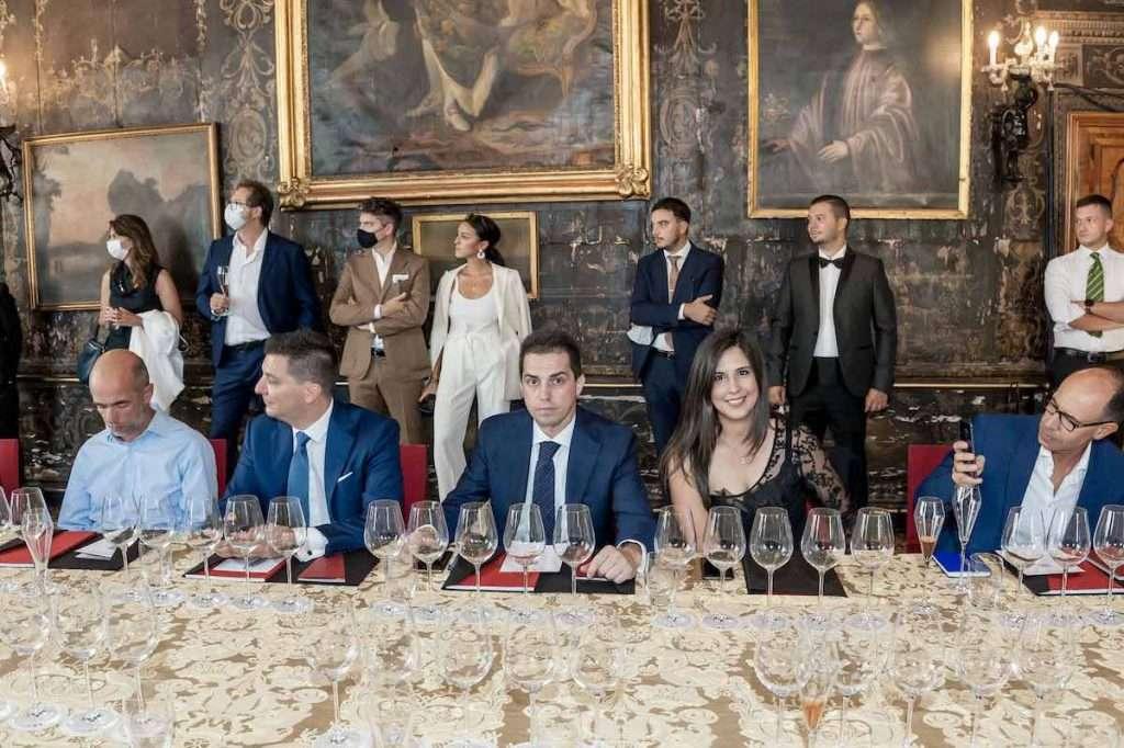 Un'occasione unica, la degustazione veneziana organizzata da Oeno, che ha radunato giornalisti e alcuni tra i più importanti esponenti del panorama enologico attuale