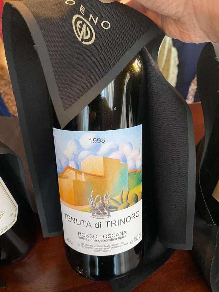 Uno dei tagli bordolesi più prestigiosi e iconici della Toscana:  il Tenuta di Trinoro 1998