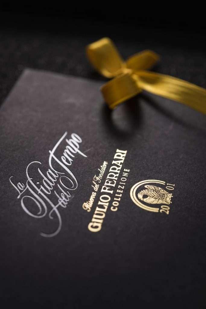 Per la prima volta con l'annata 2001, il Giulio Ferrari Collezione è disponibile anche in formato magnum