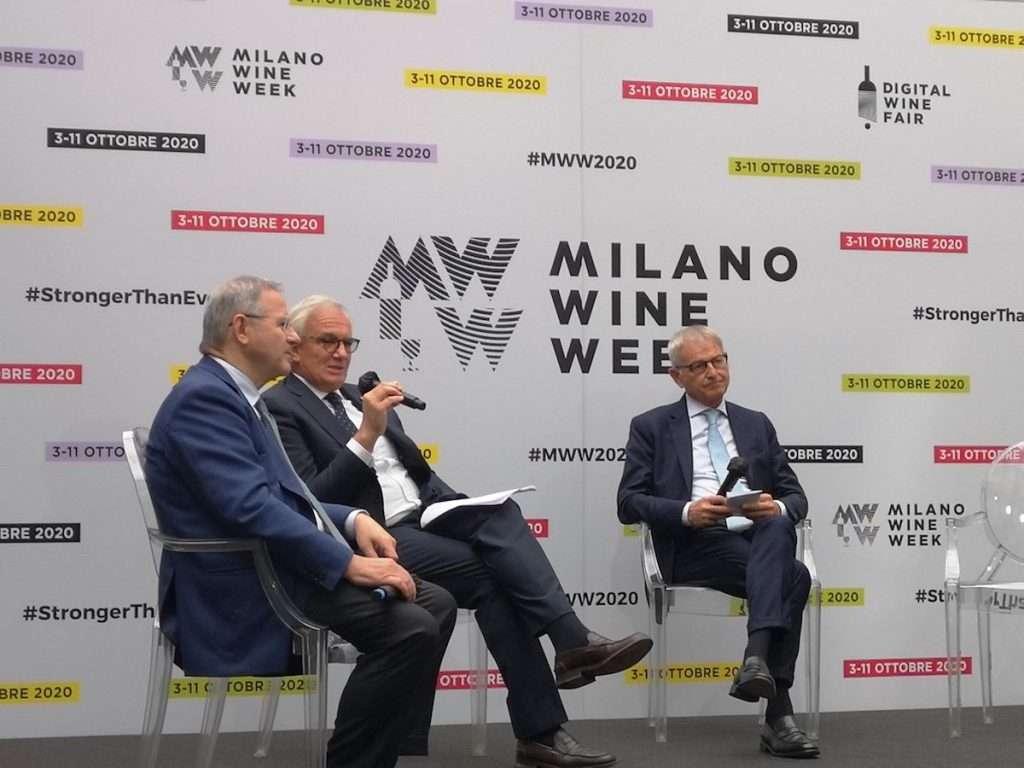 Anche i presidenti di Fipe, FederDoc e Uiv protagonisti al debutto di Milano Wine Week 2020