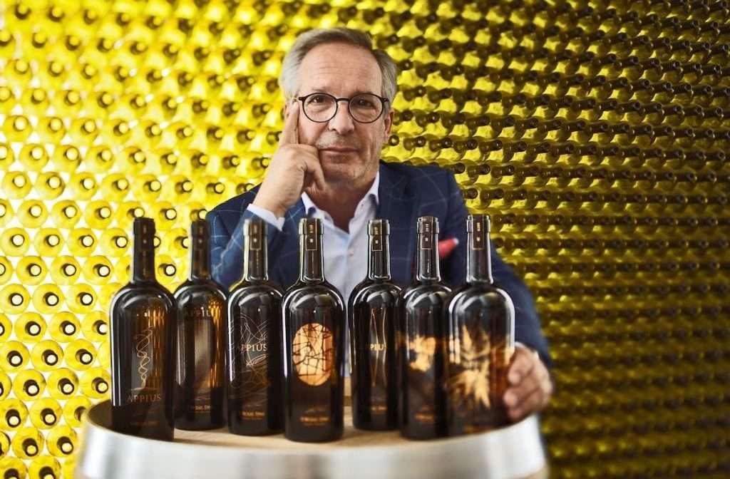 Appius 2016 è un vino orgogliosamente altoatesino, come è stato evidenziato all'interno della diretta da alcuni tra i più noti degustatori collegati, ma anche orgogliosamente di Cantina San Michele Appiano e, soprattutto, di Hans Terzer, il suo creatore