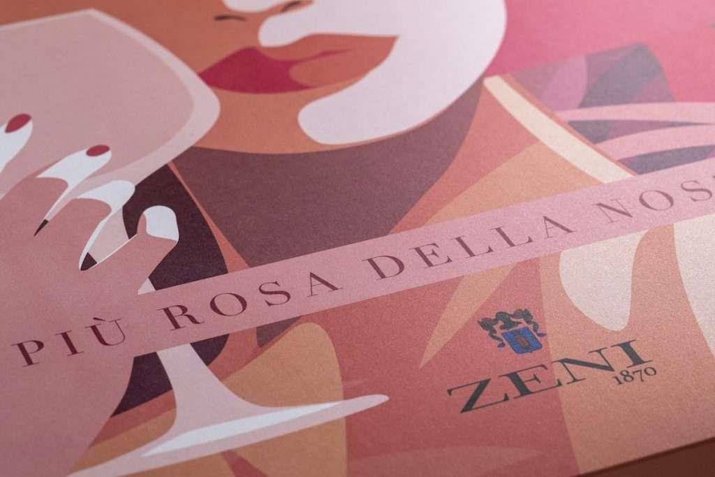È una sfumatura di Natale differente quella proposta per il 2020 da Zeni1870. Una celebrazione dai toni decisamente rosa, con cui la storica winery boutique di Bardolino sceglie di condurre in un viaggio alla riscoperta delle sue radici gardesane
