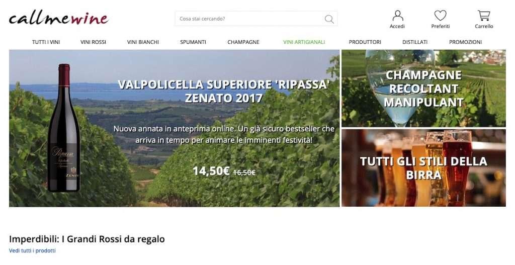 Positive le performance dei vini della Valpolicella sul portale Callmewine