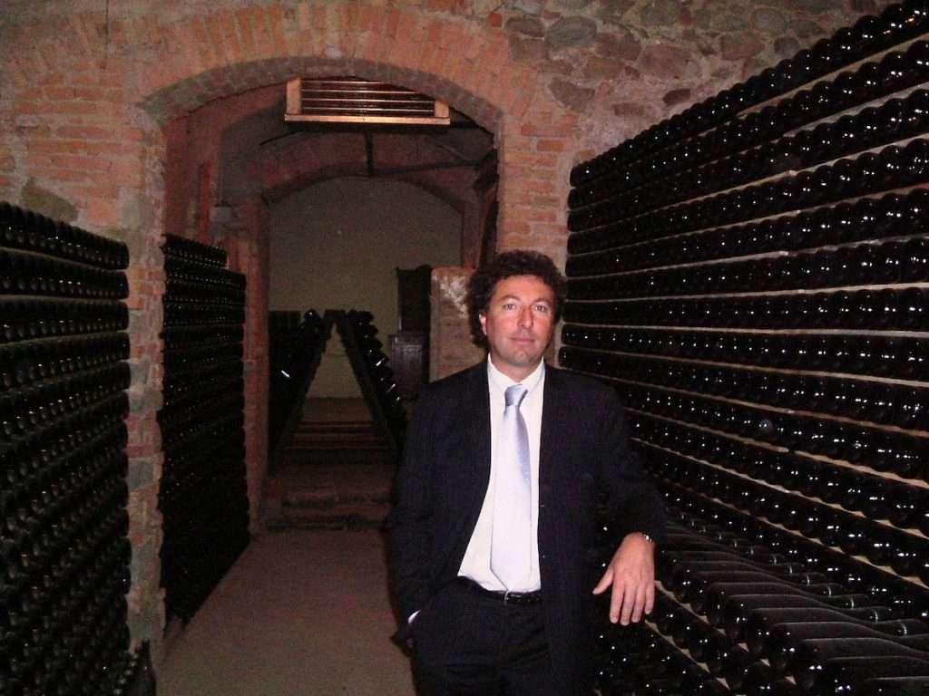 Fabio Lantieri, titolare della cantina franciacortina
