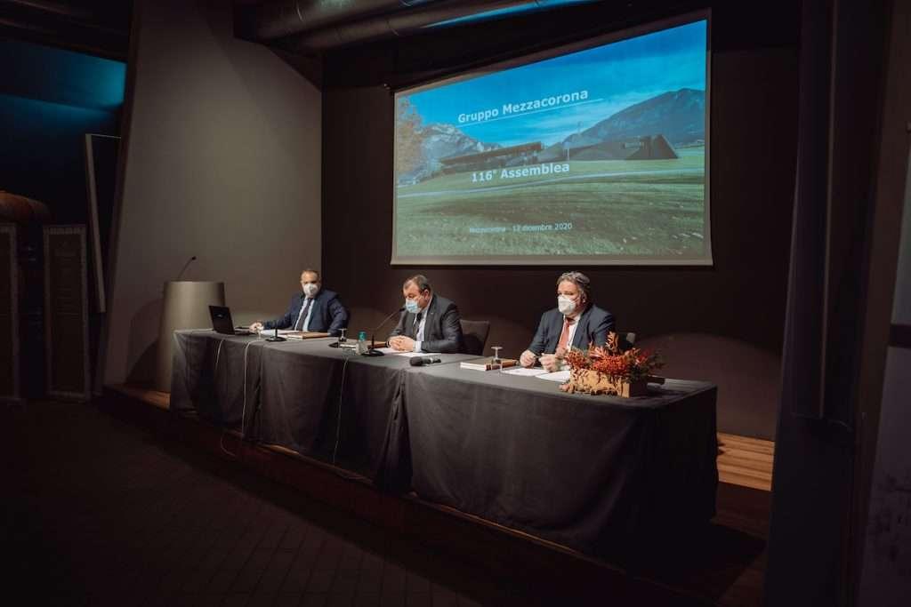 Il bilancio d'esercizio esposto dal presidente Luca Rigotti e dal direttore generale Francesco Giovannini evidenzia la forza del Gruppo Mezzacorona sia dal punto di vista economico sia finanziario