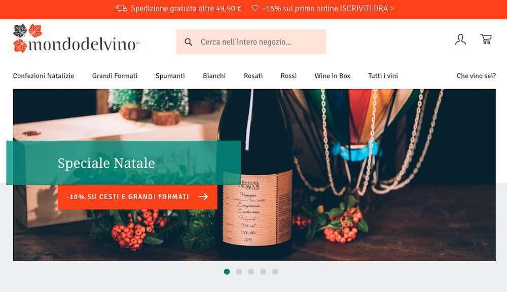 La scelta dei vini per le feste diventa anche occasione per scoprire l'e-commerce Mondodelvino, piattaforma multicanale che unisce gioco, esperienza e incontro
