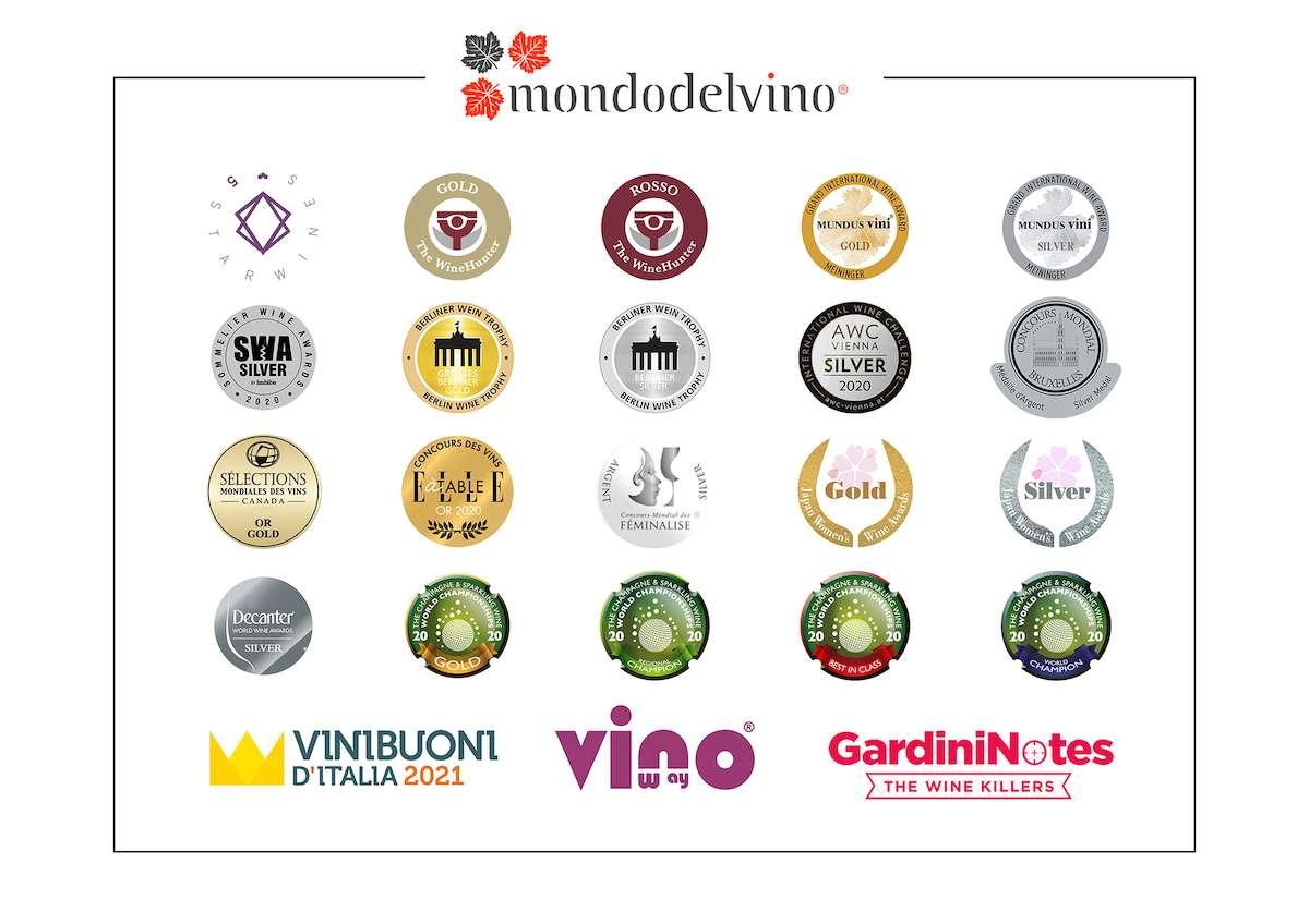 Gruppo Mondodelvino: un anno carico di conferme nel medagliere