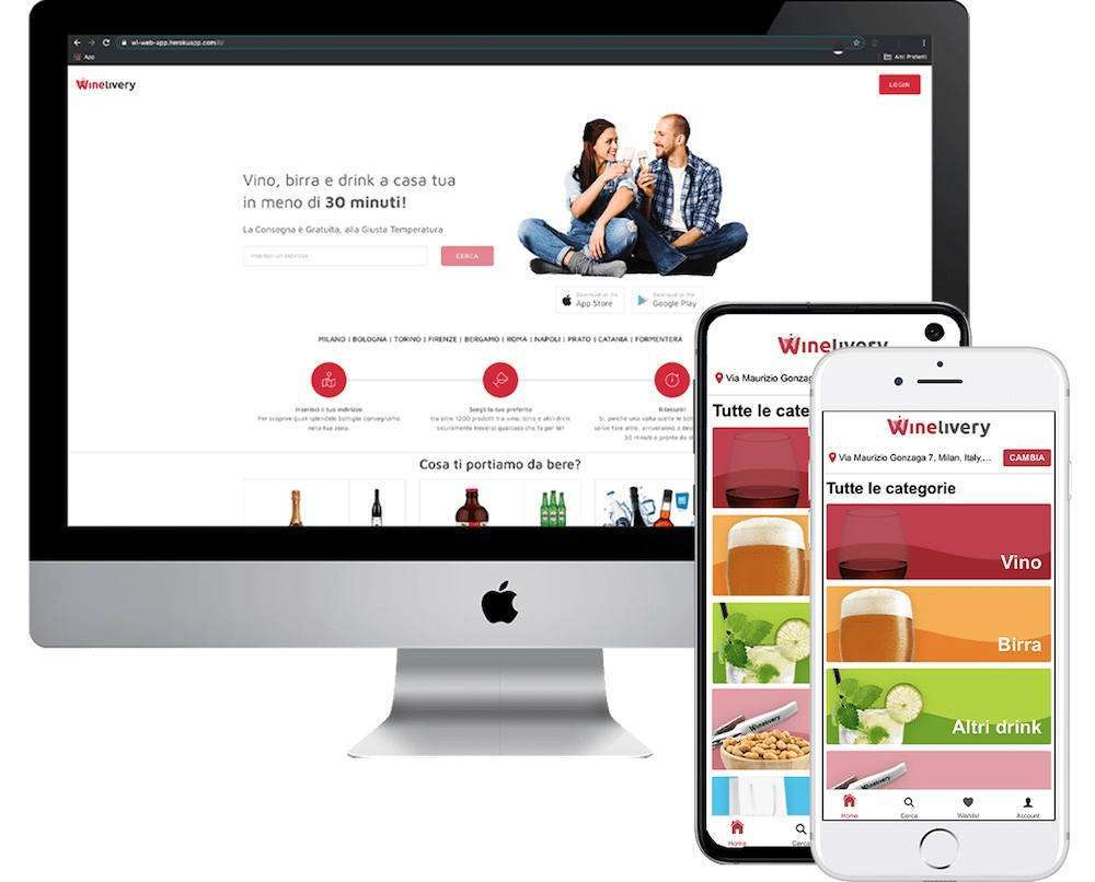 Tra le modalità di pagamento sulla App di Winelivery arriva anche Satispay