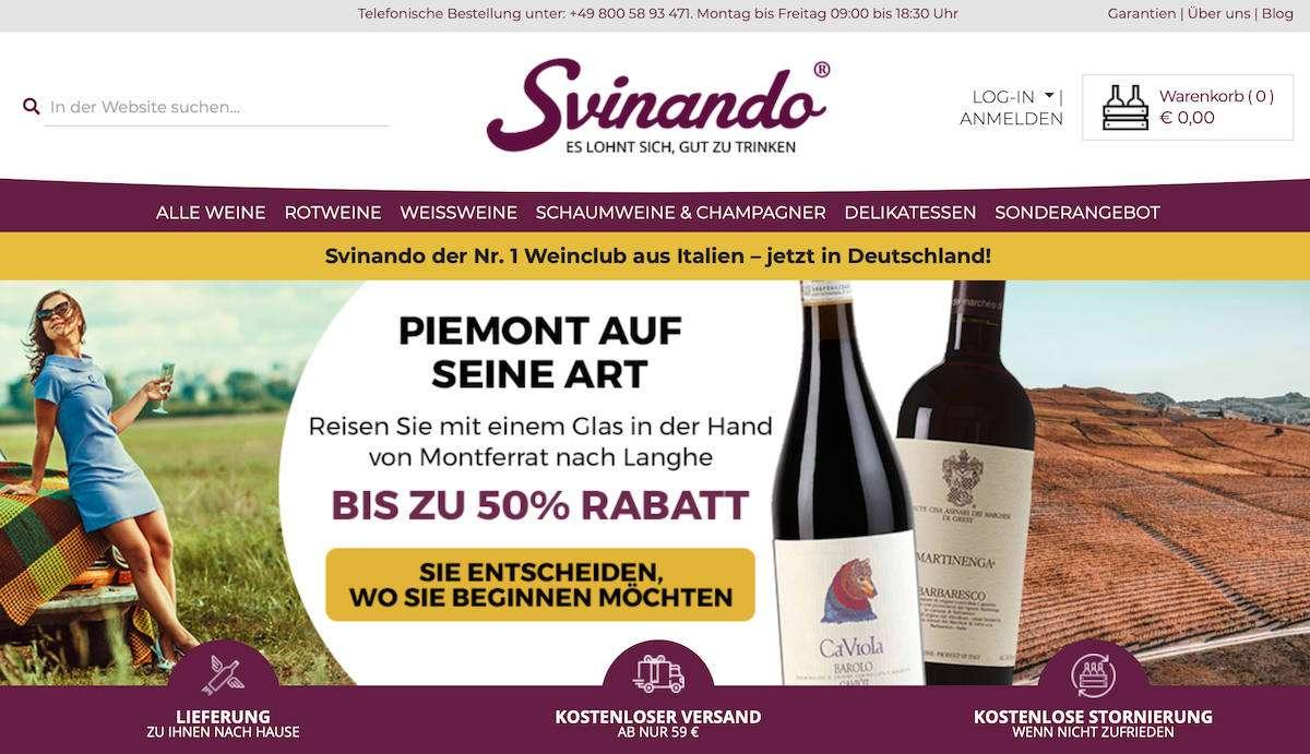 Svinando: la piattaforma e-commerce sbarca in Germania