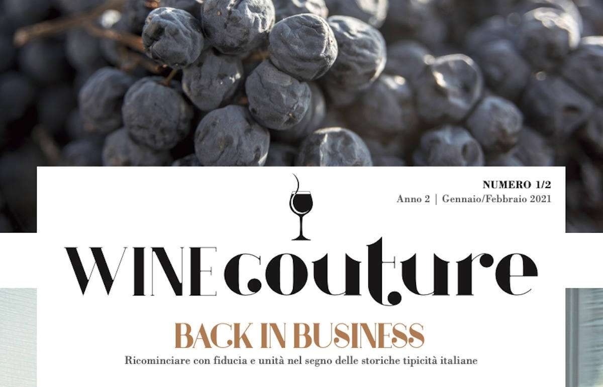 "WineCouture, anno due, n. 1: ""Back in Business"""