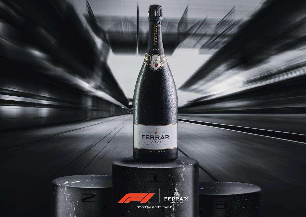 Il vino italiano sale sul podio: Ferrari Trento nuovo brindisi ufficiale della Formula 1