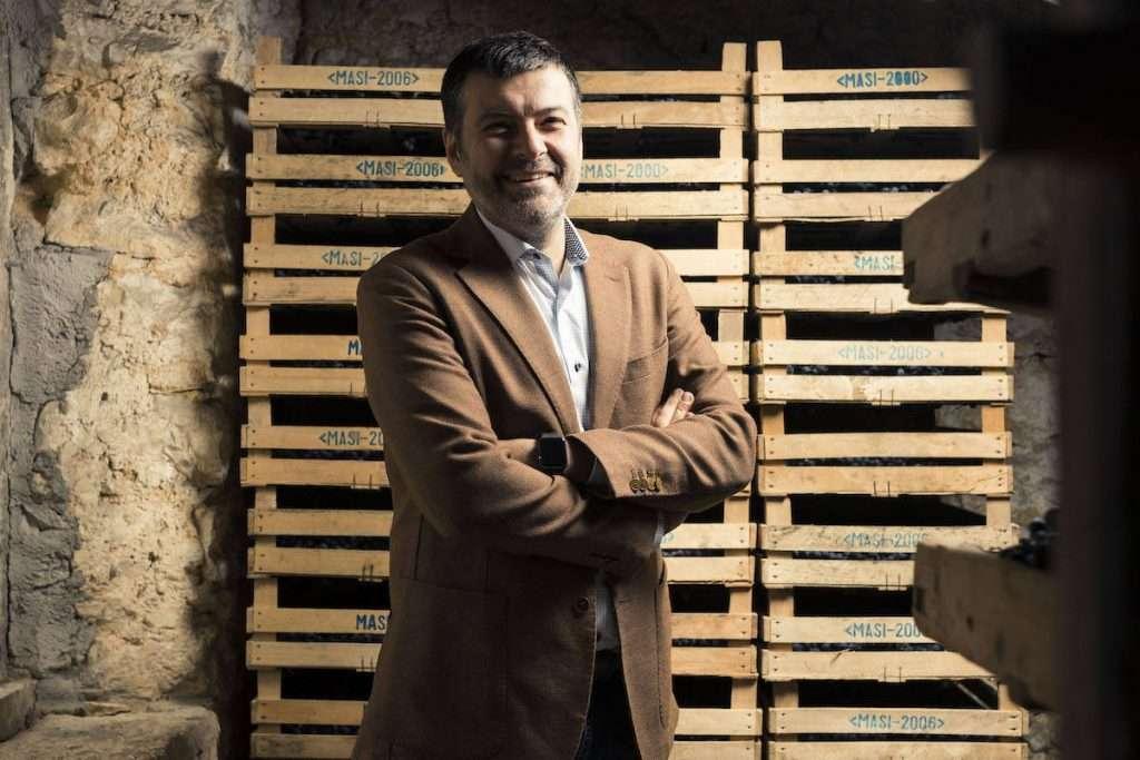 Raffaele Boscaini, responsabile del Gruppo Tecnico e settima generazione della famiglia proprietaria di Masi