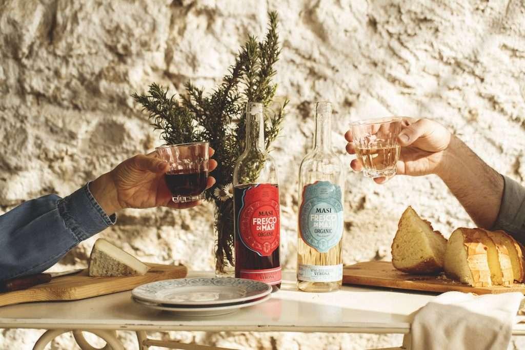 """Un ritorno alle origini e alla ricerca dell'essenza del vino: questa la filosofia alla base della novità """"Fresco di Masi"""""""