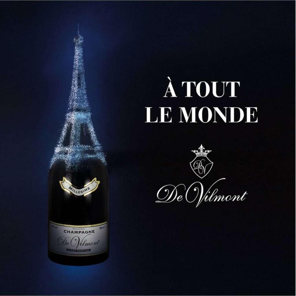 Nel 2007 la famiglia Serena è diventa titolare anche di una Maison in Champagne: De Vilmont