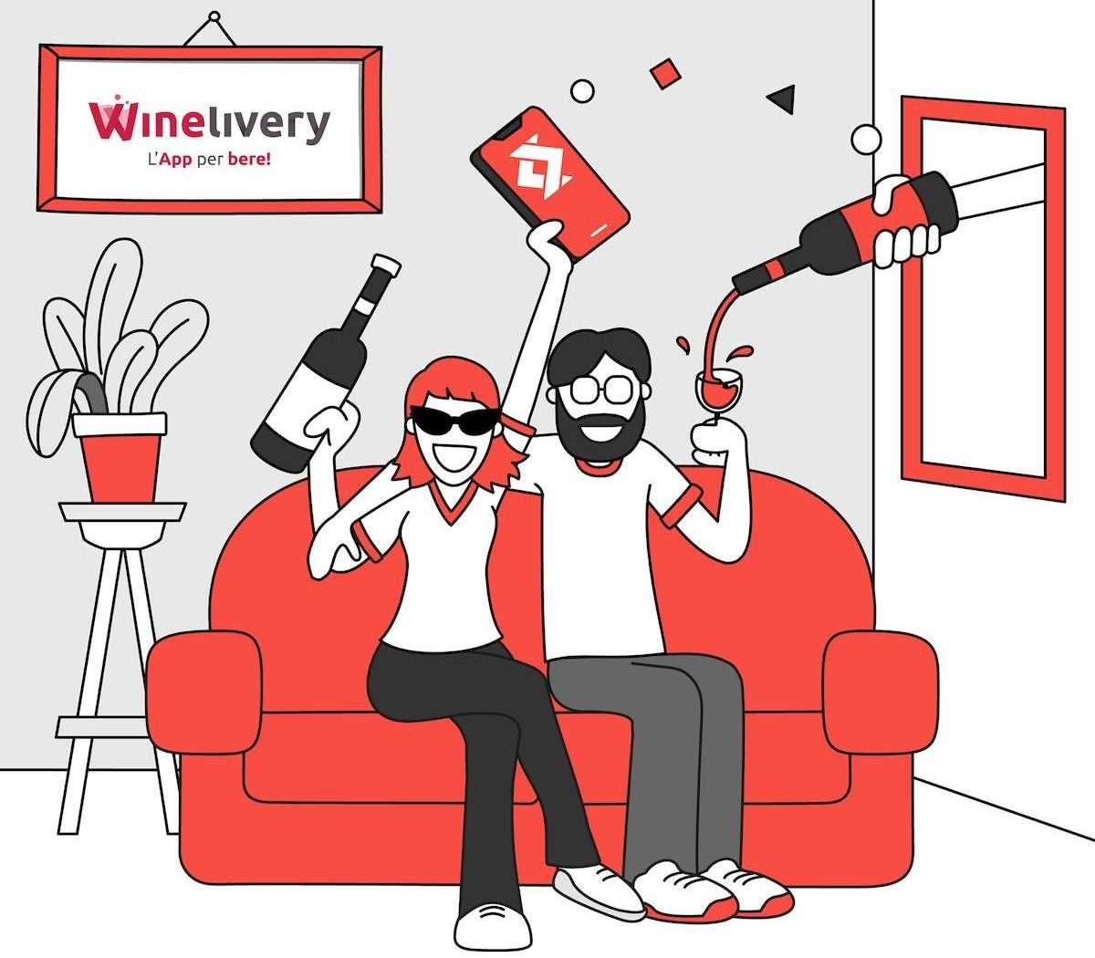 Winelivery: integrato in app il pagamento con Satispay
