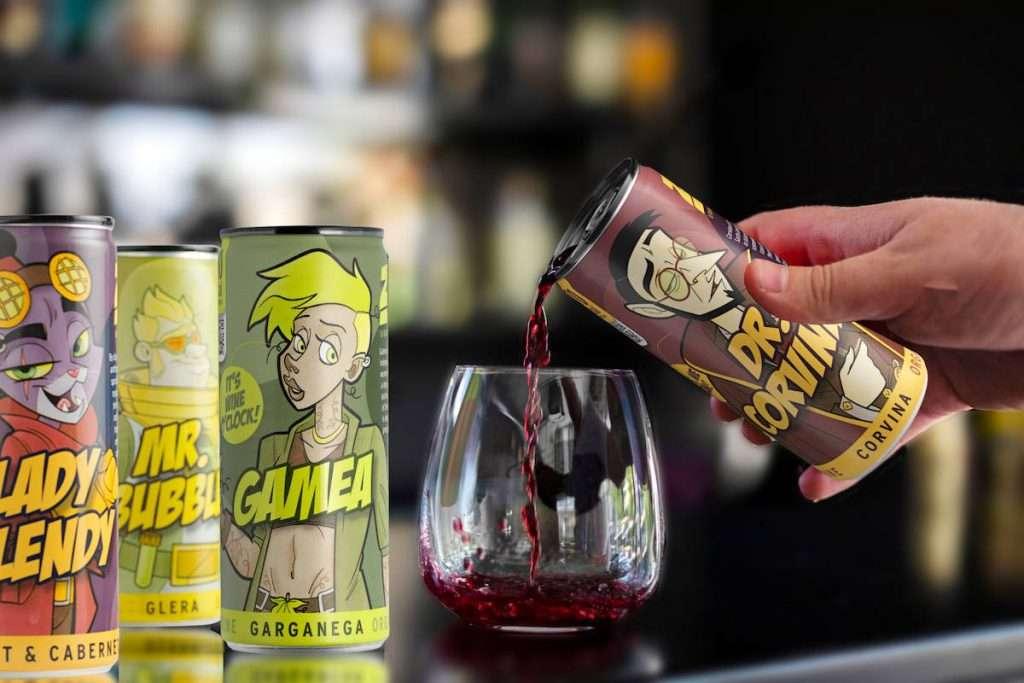 La cantina specializzata nella produzione di vini in lattina sarà partner di La Guarimba, il più grande festival del cortometraggio in Italia