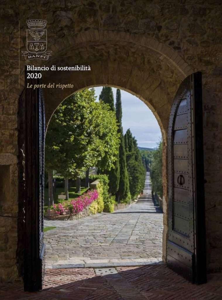 Il Bilancio di Sostenibilità 2020 Banfi è il quinto per l'azienda simbolo di Montalcino