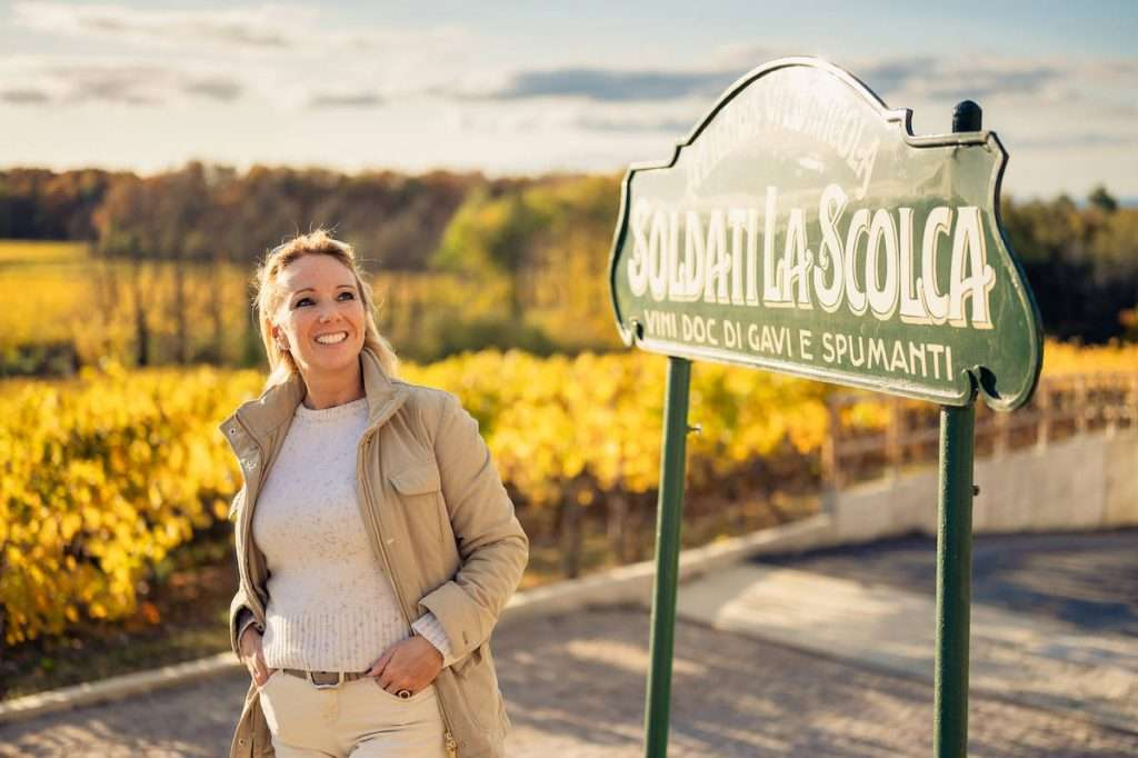 """""""Raccontare, ad esempio, il vitigno cortese di Gavi al mondo è raccontare qualcosa di unico, non replicabile. Era ed è la nostra forza per il futuro"""" (Chiara Soldati, La Scolca)"""