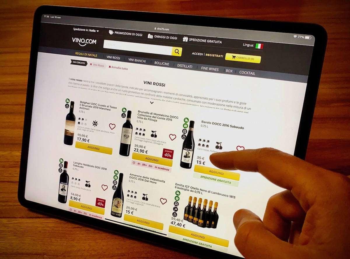 Vino.com accelera nello sviluppo dopo un 2020 record: acquisita la startup Vino.it