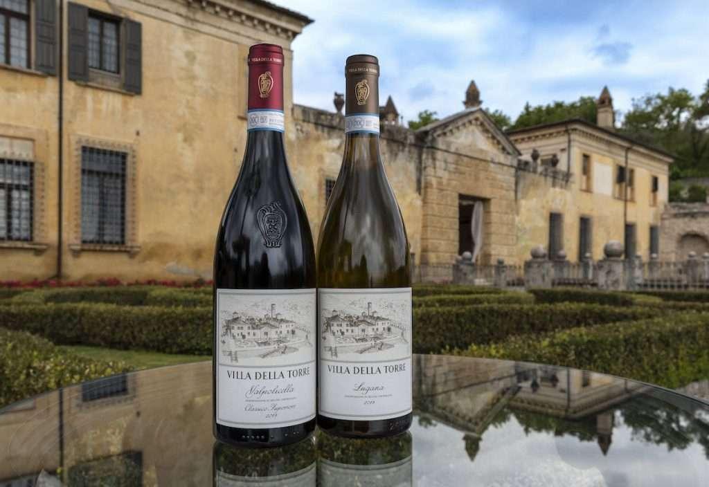 Pellegrini annuncia l'ingresso a catalogo dei due primi vini di Villa Della Torre: un Valpolicella Classico Superiore e un Lugana
