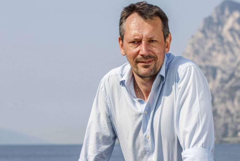 Furio Battelini, enologo di Cantina di Riva, ideatore della nuova linea Vini Vista Lago