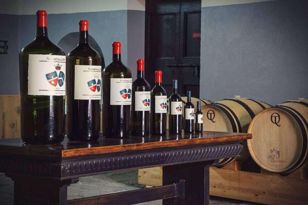 Tra i protagonisti delle wine experience del weekend, Sassoalloro 2018, figlio enologico prediletto del Castello di Montepò