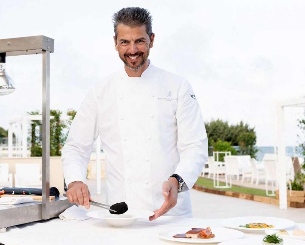 A Montecarlo, quello dello Chef Andrea Berton sarà un pop up restaurant che proporrà una carta caratterizzata da piatti signature, affiancati da nuove proposte che rappresentano la cucina italiana più classica