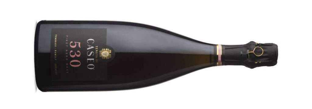 530 Pinot Nero Rosé Metodo Classico Brut, millesimato 2017 e affinato di 36 mesi sui lieviti