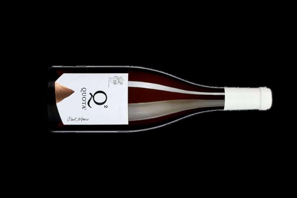 Torna nella linea Insolitus, ma con l'annata 2019, il Pinot Bianco Quota2 Abbazia di Novacella