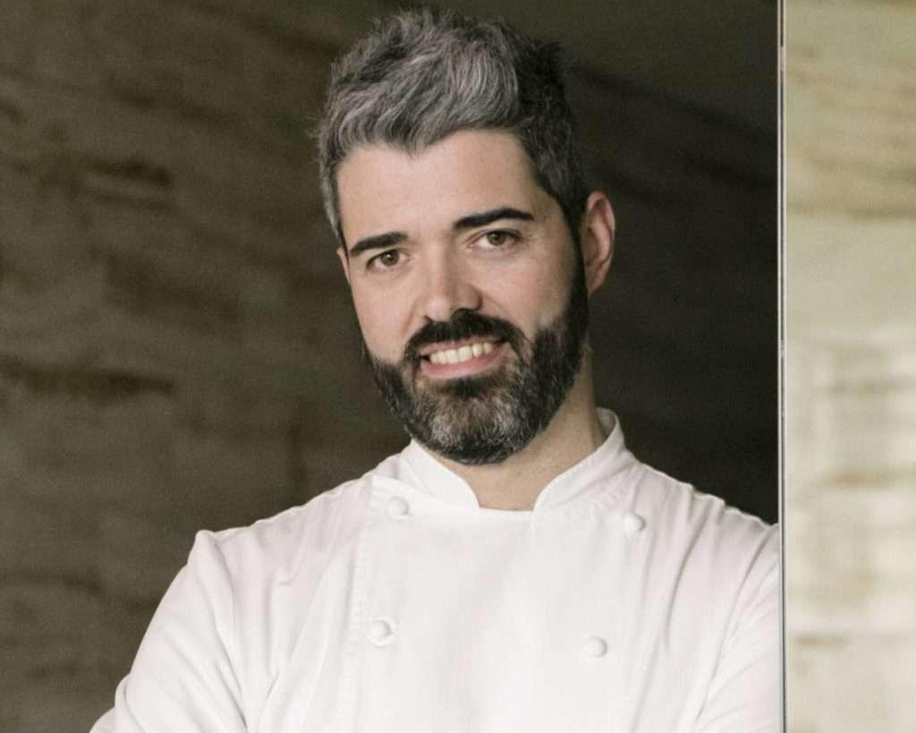 Francesco Mascheroni, guida in cucina dell'Armani/Ristorante Milano, ospite in Versilia per una serata a quattro mani il 22 luglio