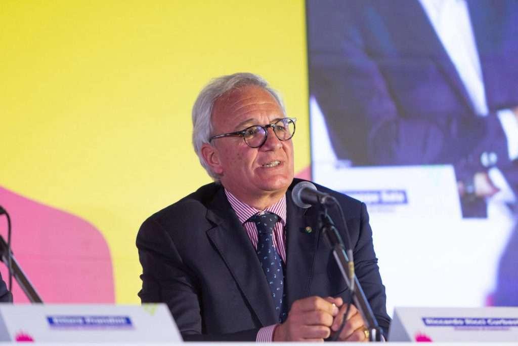 Riccardo Ricci Curbastro, presidente FederDoc, ente che riunisce i Consorzi del vino italiani