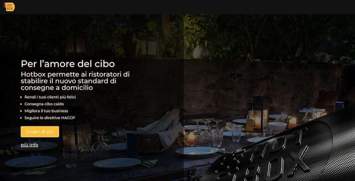 """RistoTech/ 3: Hotbox, il """"forno mobile"""" per le consegne a domicilio"""