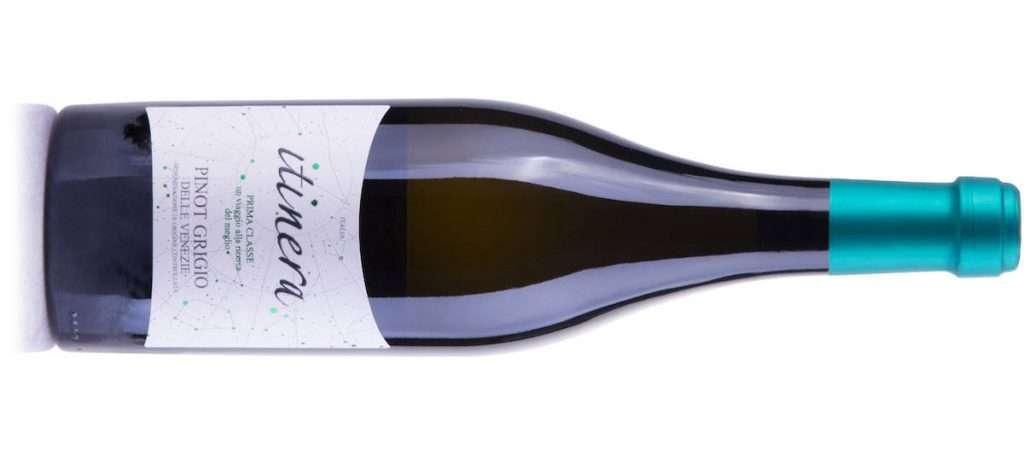 A rappresentare il Nord Italia in Itiniera Prima Classe Mgm è il Pinot Grigio delle Venezie Doc