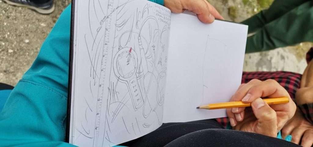 All'incontro in cui Alpstream ed Essenza Monviso hanno visto congiunti i propri sguardi sul fiume Po, si aggiunge un terzo racconto: la graphic novel alla quale sta lavorando Elisabetta Percivati, in arte Epi