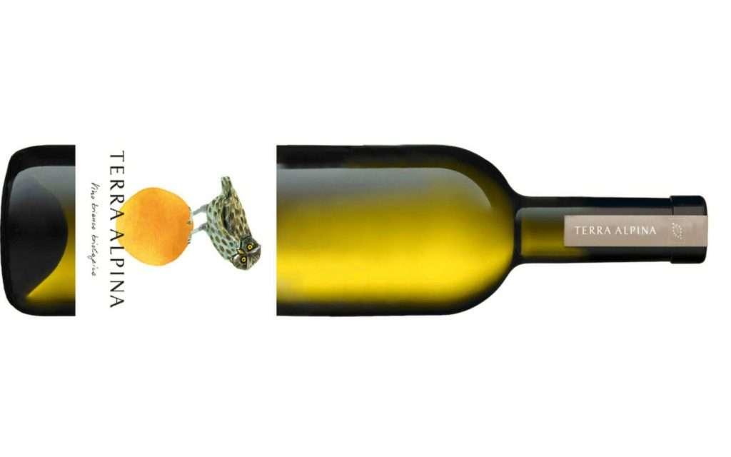 Chardonnay, Muller Thurgau, Garganega, Welschriesling e Pinot Grigio sono i protagonisti del blend di Terra Alpina Bianco
