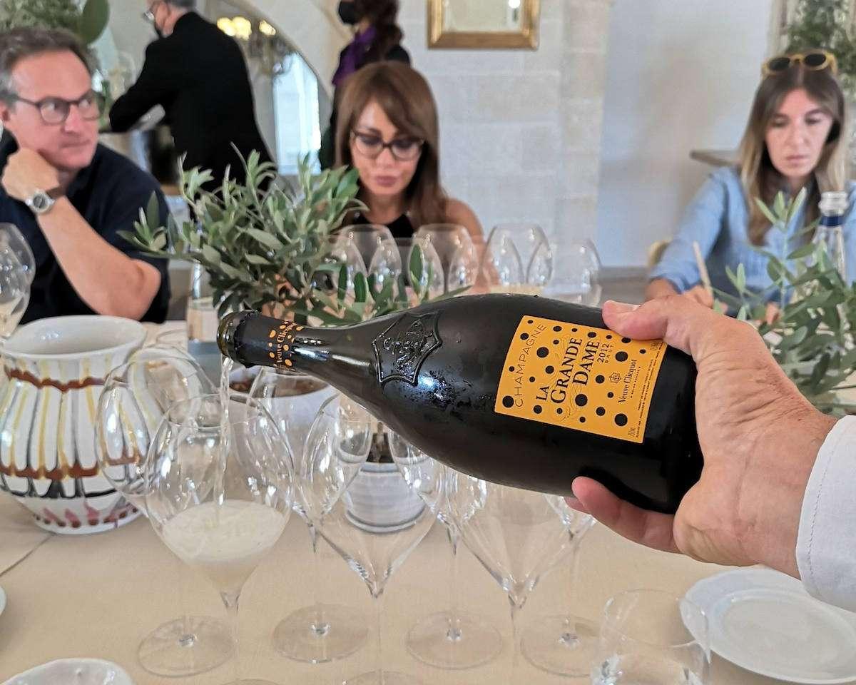 Veuve Clicquot: et voilà, in Italia La Grande Dame 2012